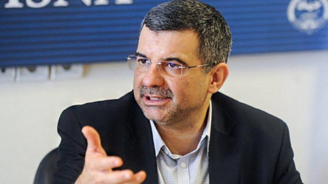 Iraj Harirchi, Iran's deputy minister for health. (Twitter)