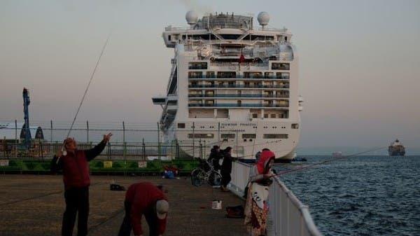 كورونا في اليابان.. وفاة رابع راكب من السفينة وتعليق مباريات