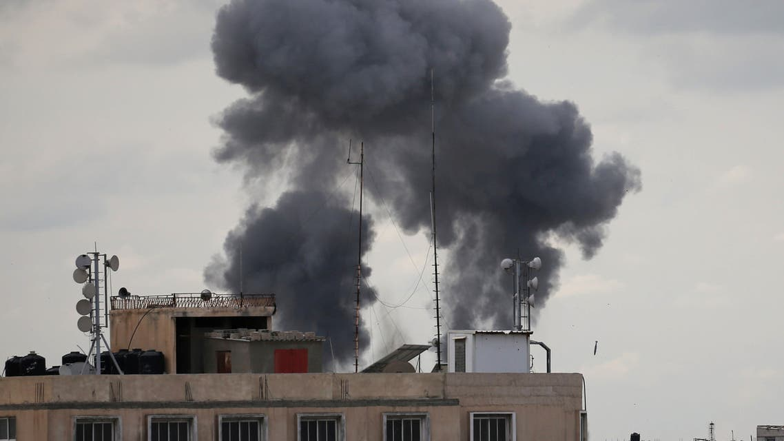 من القصف الإسرائيلي على غزة