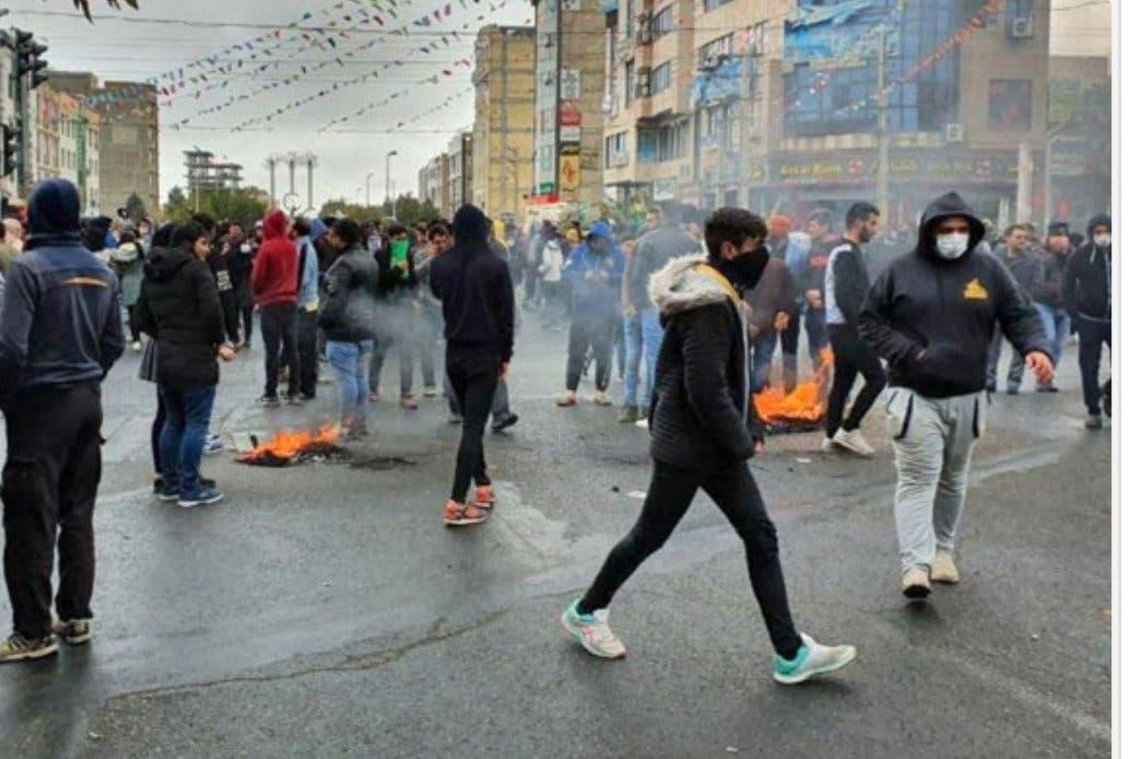 تصاویری از اعتراضات آبان ماه 98