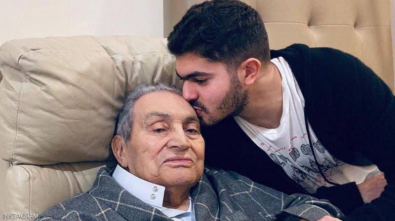 مبارك بعد الجراحة الأخيرة