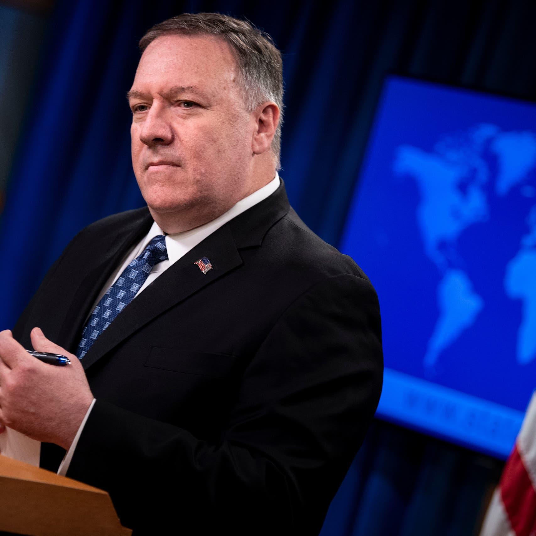 بومبيو: إيران ربما أخفت تفاصيل حيوية بشأن انتشار كورونا