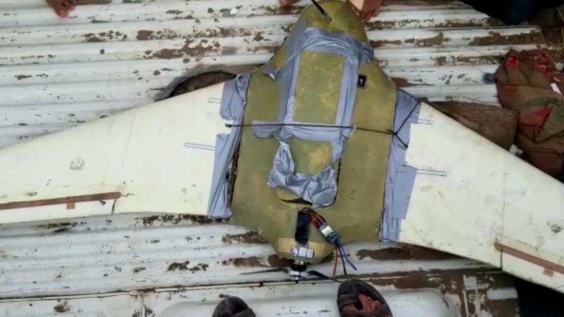 طائرة استطلاع حوثية درون حوثية مسيرة حوثية الدريهمي