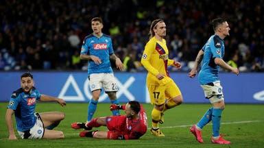 رئيس نابولي قلق من اللعب في برشلونة