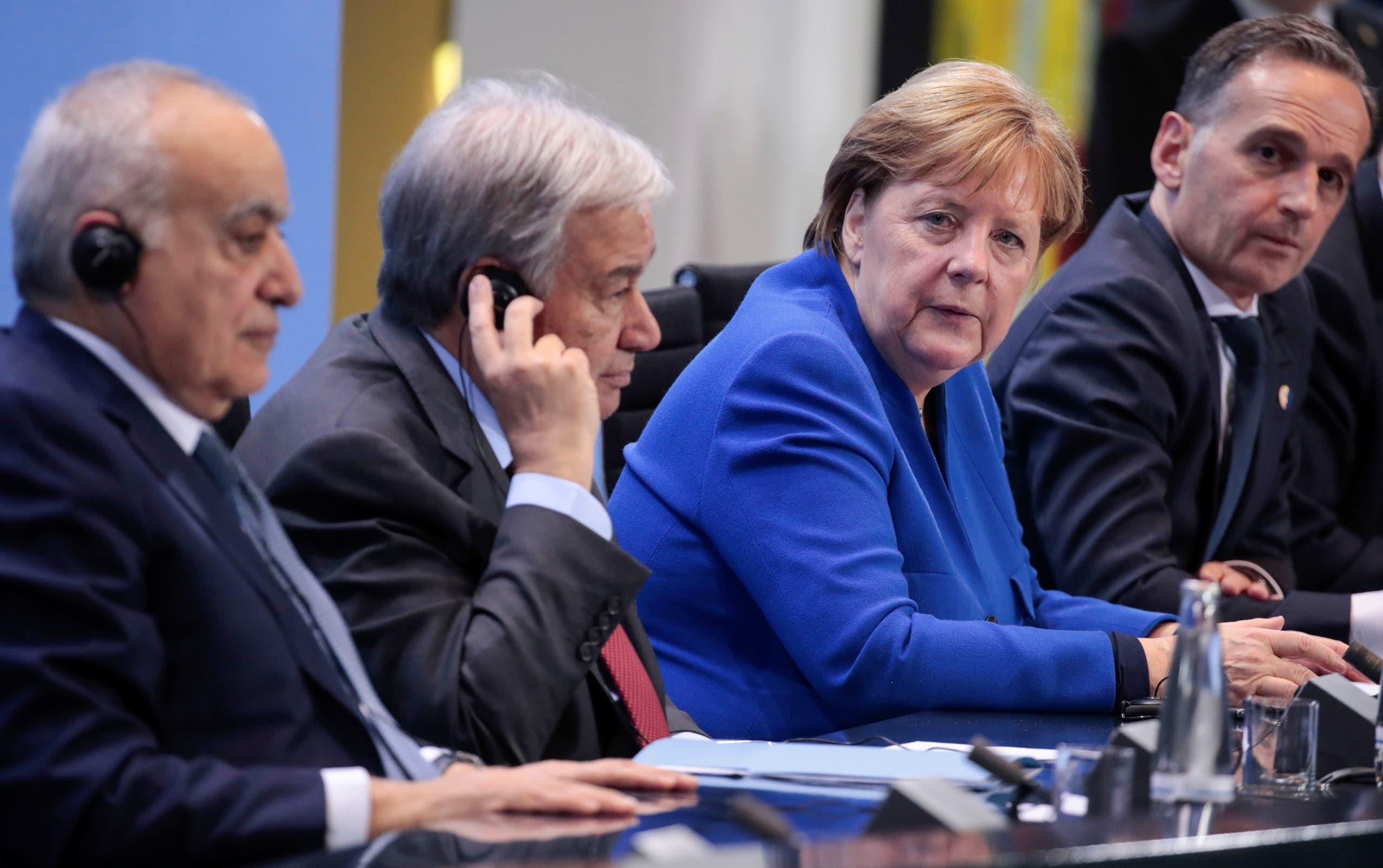 من مؤتمر برلين يوم 19 يناير