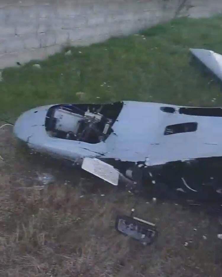 طائرة مسيرة تركية من نوع بيرقدار أسقطها الجيش الليبي