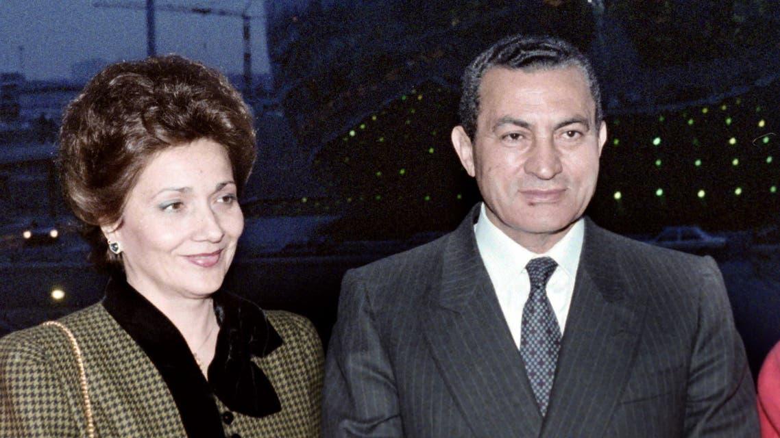 سوزان مبارك(أرشيفية- فرانس برس)