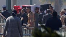Egypt holds military funeral for former leader Hosni Mubarak