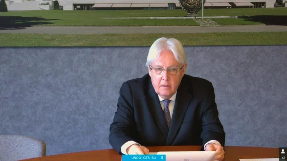 غريفثس عقد مشاورات مع شخصيات يمنية حول استئناف العملية السياسية