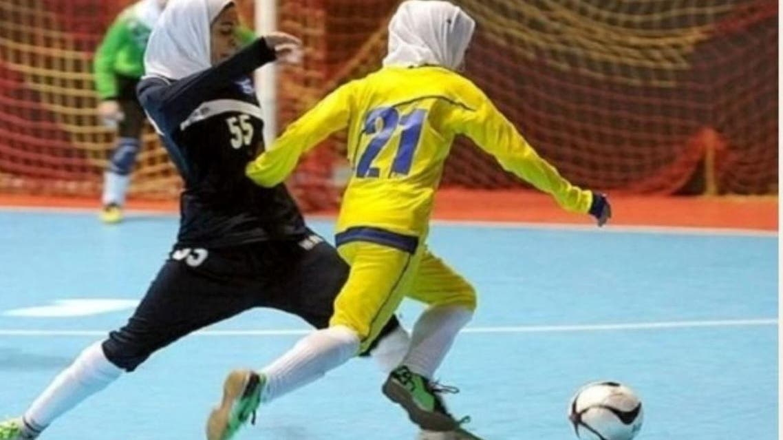 Iranian coronavirus Futsal pic from Yaghoub (Supplied).jpeg