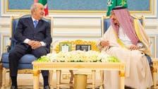 Saudi Arabia's King Salman sends message to Algeria's president via foreign minister
