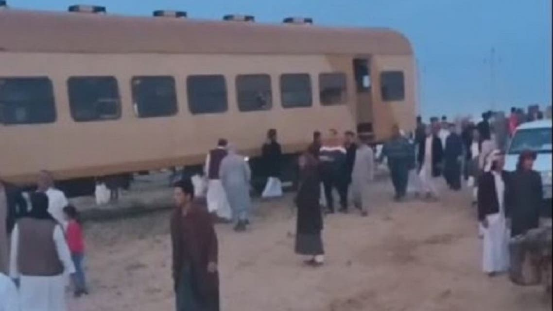 انقلاب قطار مصر