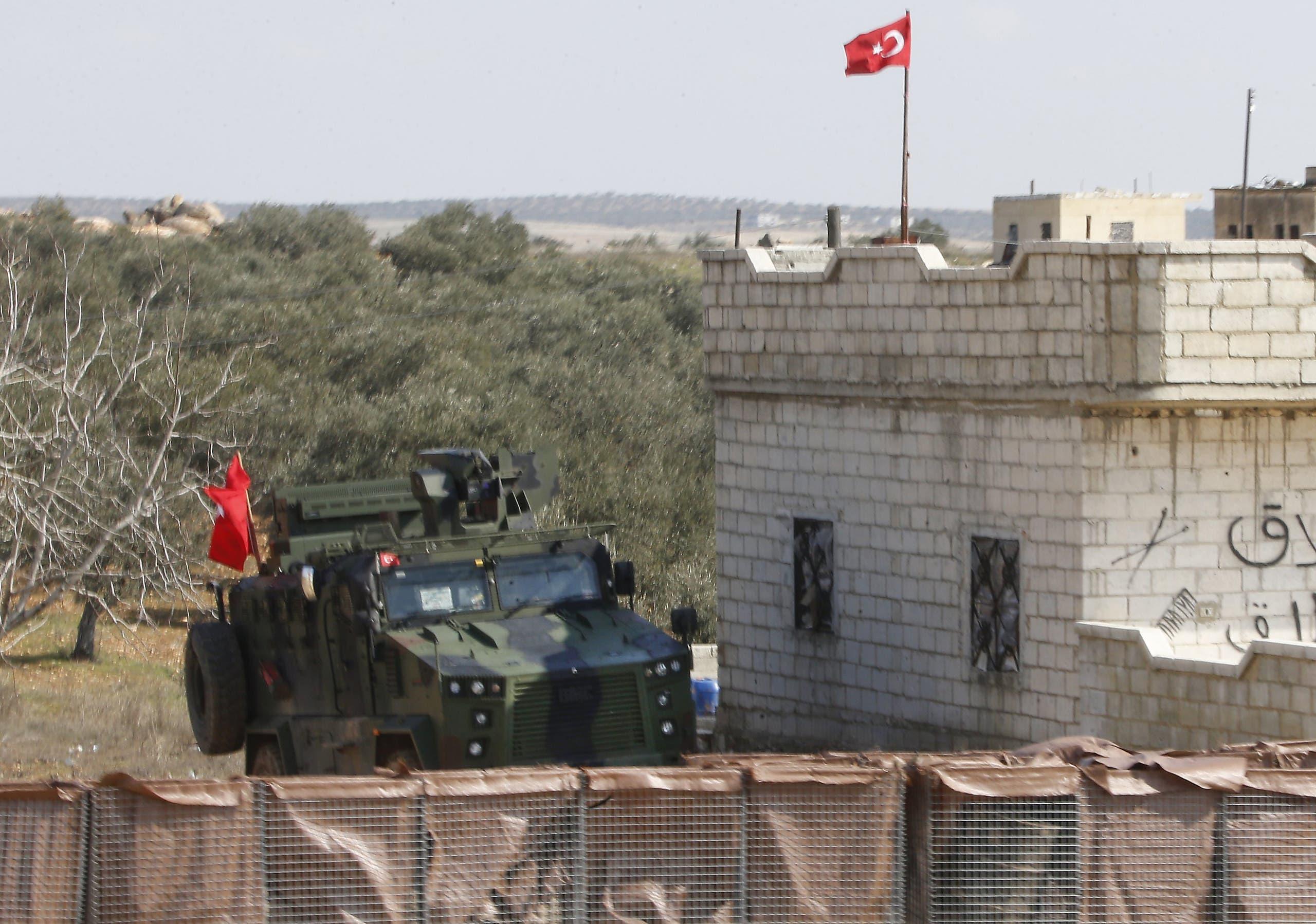 نقطة مراقبة تركية في إدلب (أرشيفية- فرانس برس)