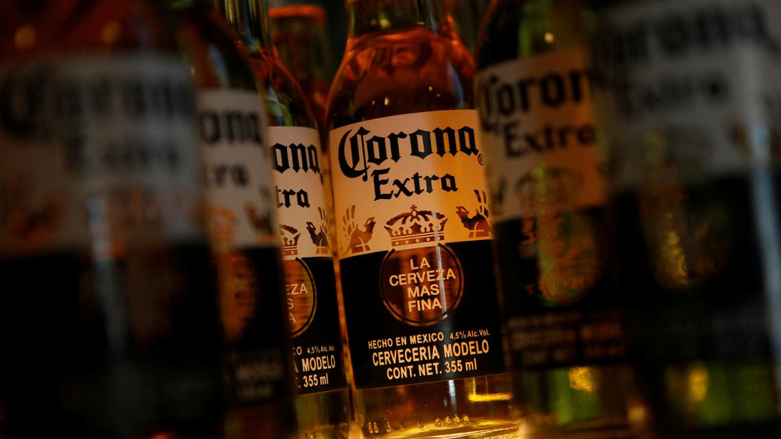 Bottles of Corona beer are pictured at a restaurant in Mexico City, Mexico January 27, 2017. (File photo: Reuters)