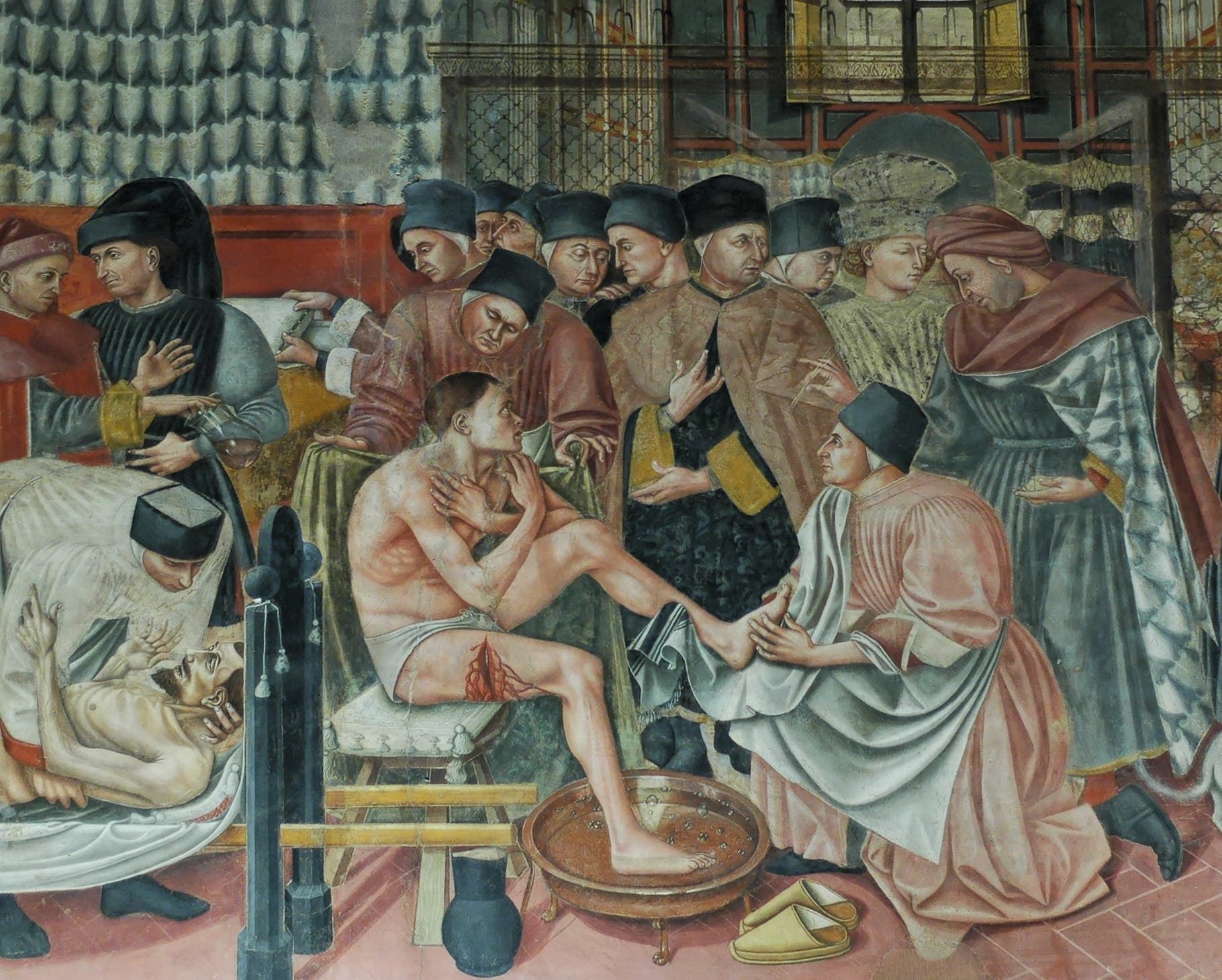 مرضى من القرون الوسطى في أوروبا