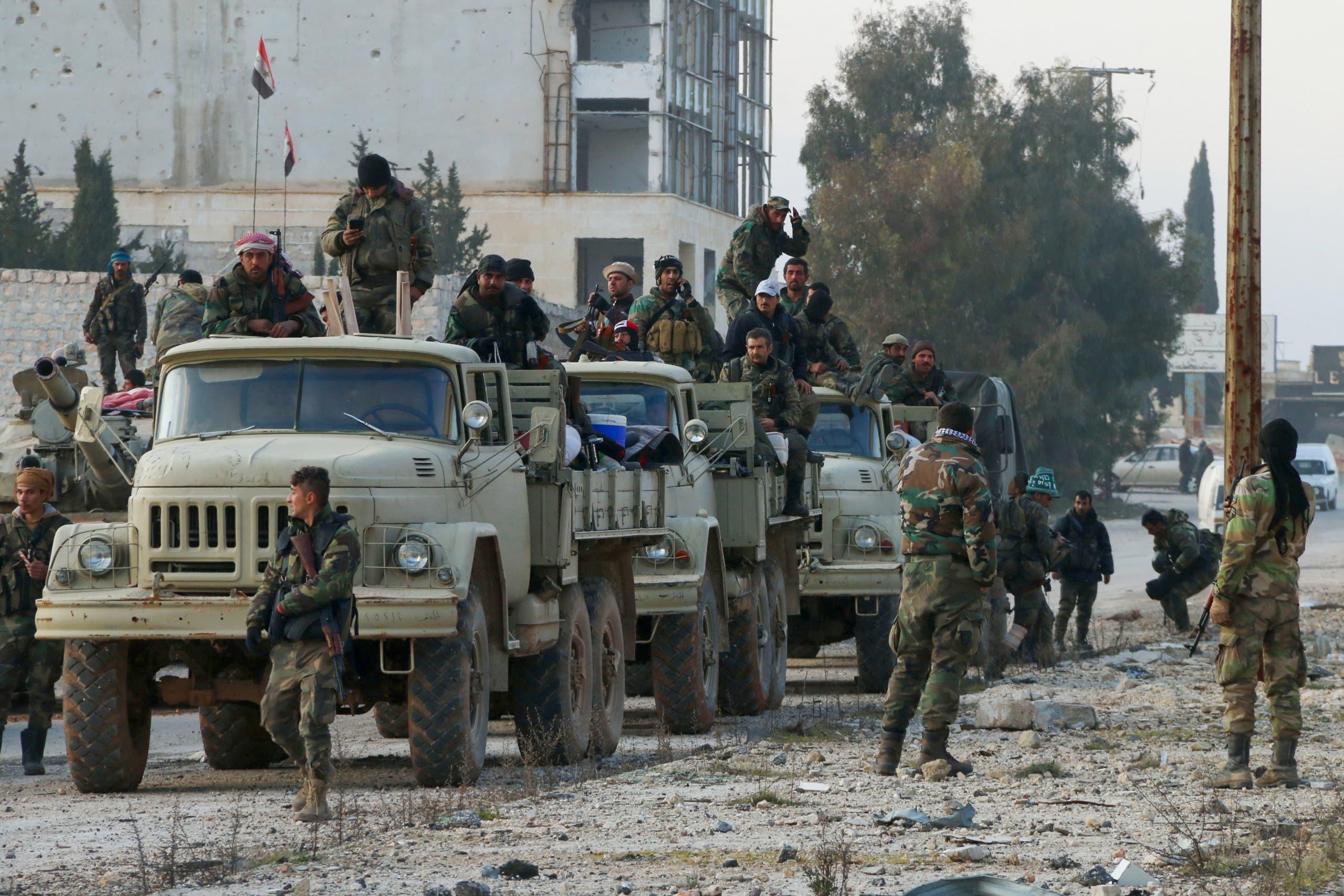 عناصر من قوات النظام السوري - أرشيفية
