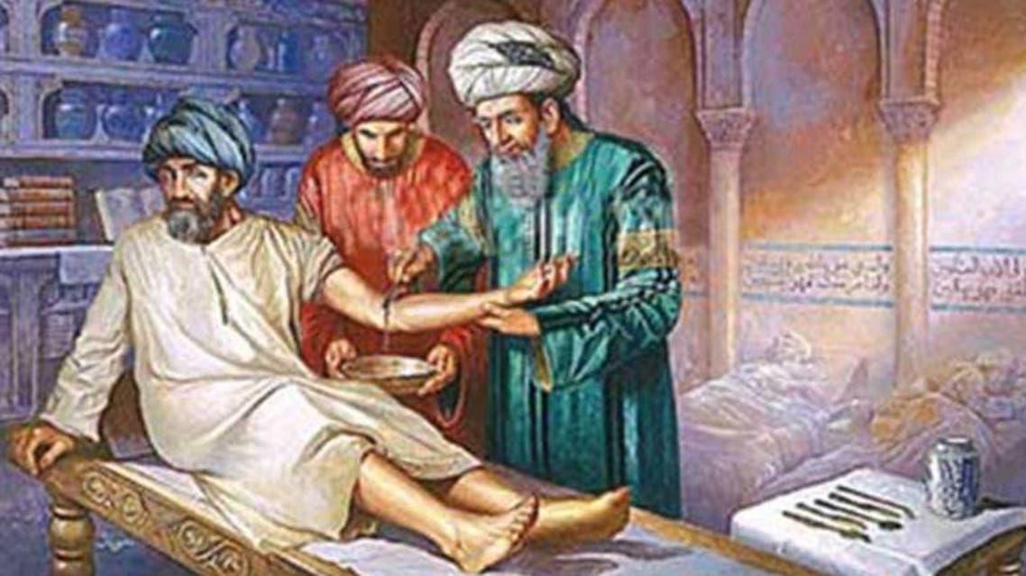 لوحات عن الطبابة في العالم الاسلامي (2)