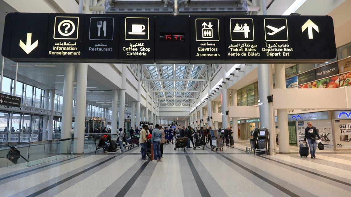 من مطار بيروت يوم 27 يناير
