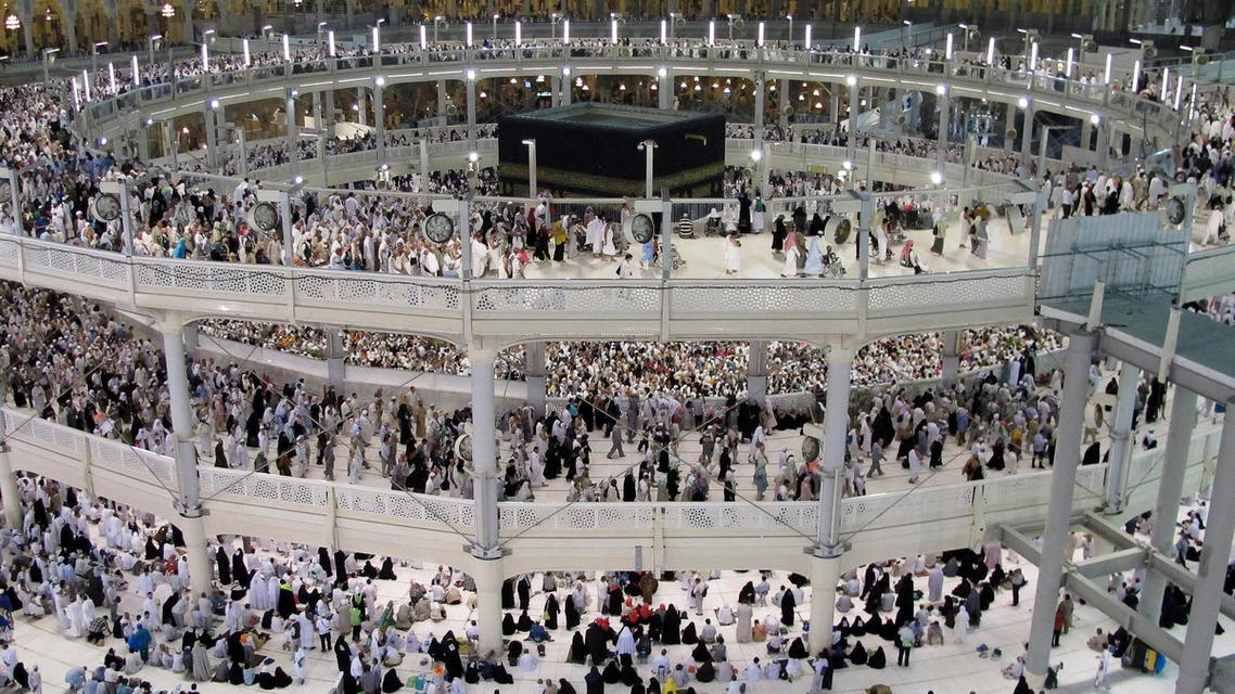 Muslim pilgrims circumambulate around the holy Kaaba in Mecca. (File photo: Reuters)