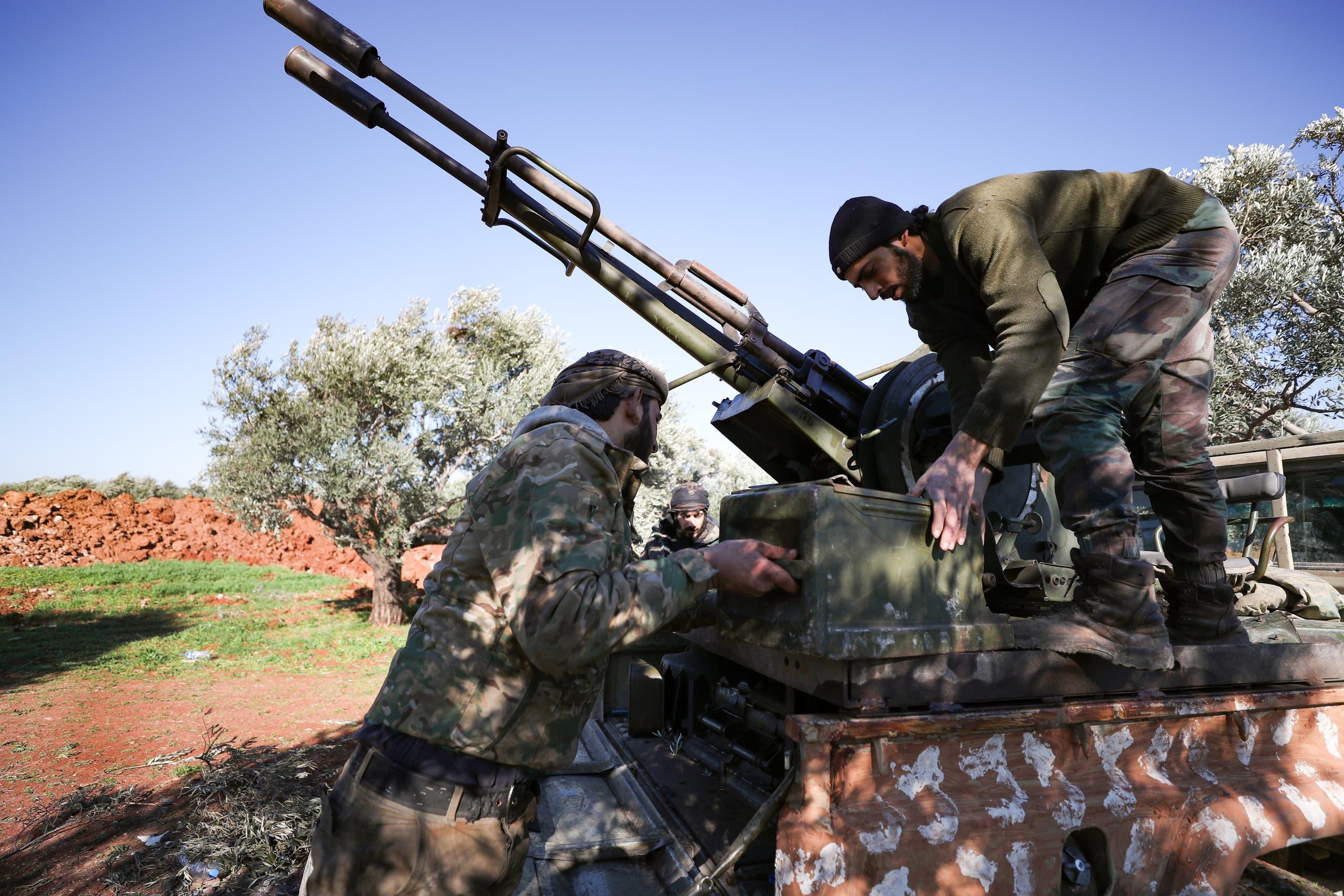 الفصائل السورية المسلحة المدعومة من أنقرة