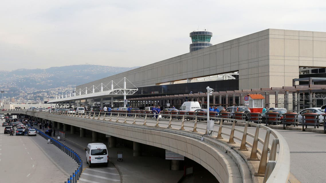 A general view shows Beirut international airport, Lebanon February 27, 2020. REUTERS/Mohamed Azakir