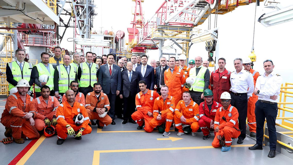 Leb begins offshore drilling