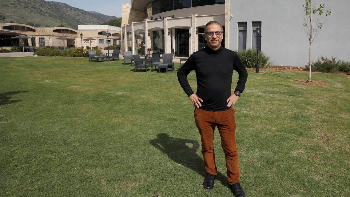 David Zigdon, CEO the MIGAL Research Institute, poses for a picture in Kiryat Shmona in the upper Galilee in northern Israel on February 27, 2020. (AFP)
