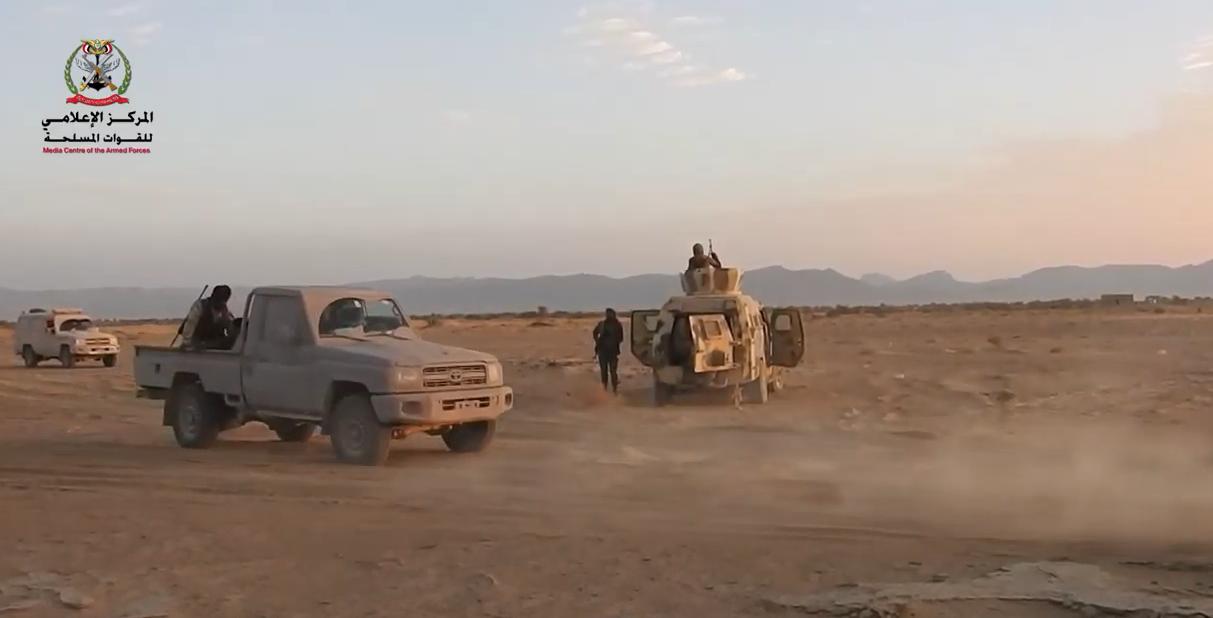 الجيش اليمني في معارك الجوف (أرشيفية)