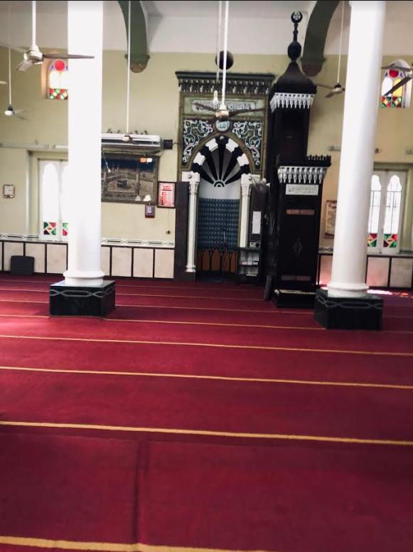 مسجد الباشا من الداخل