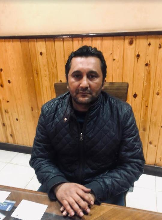 أحمد عطا الله رئيس مجلس إدارة نادي حسني مبارك