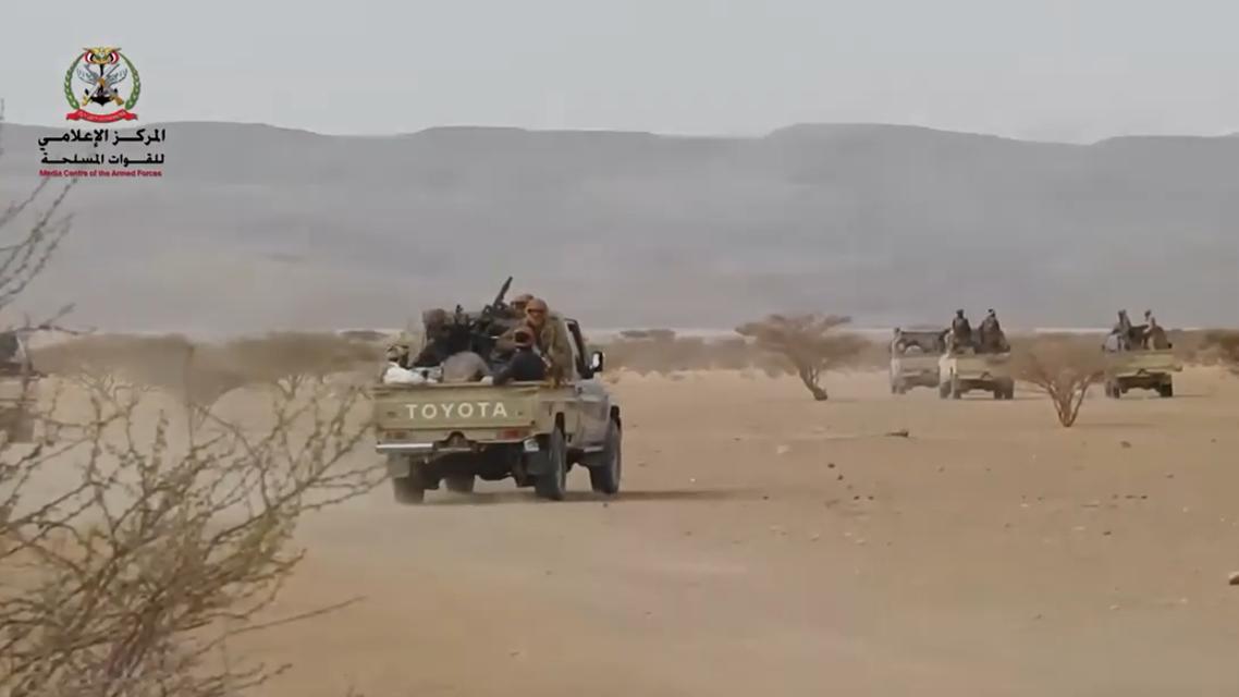الجيش اليمني في معارك الجوف اليمن