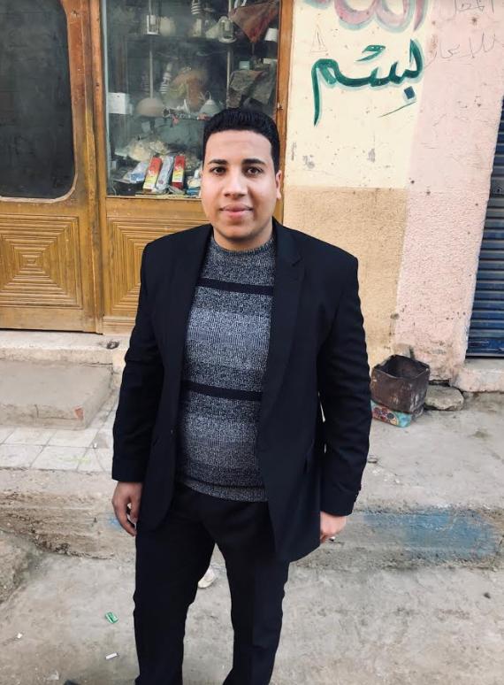 الشاب ابراهيم مبارك من عائلة الرئيس الأسبق