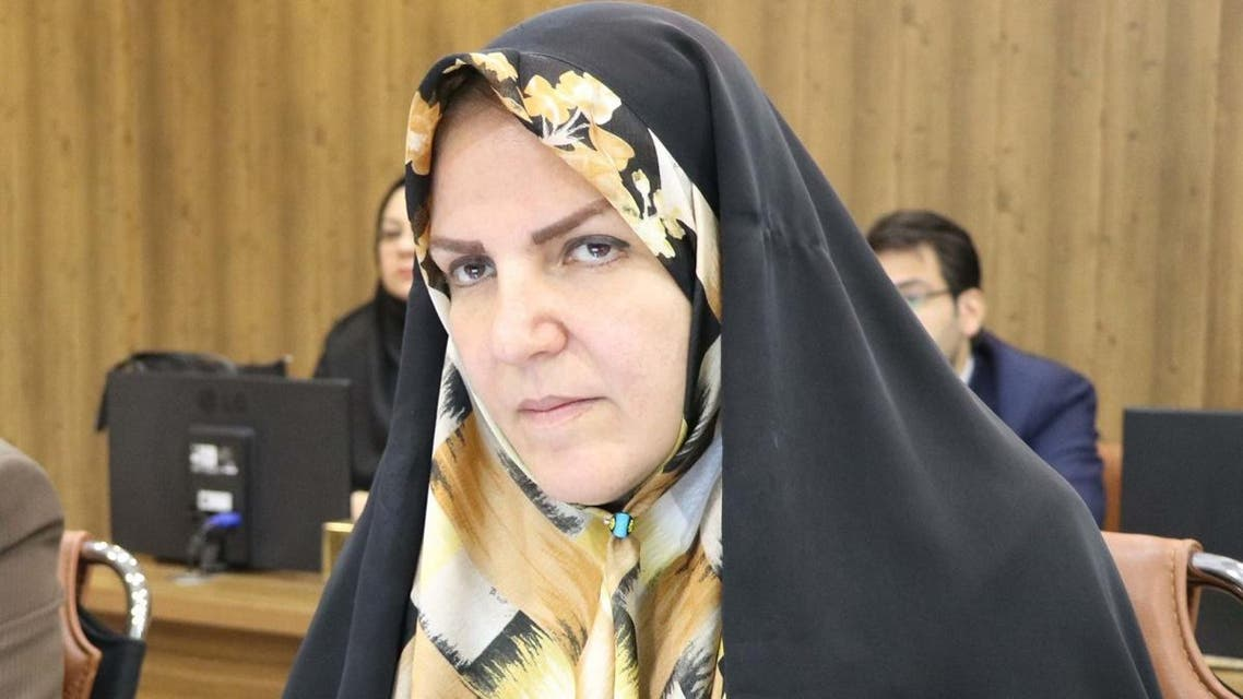 Masoumeh Aghapour Alishahi, Iranian member of parliament. (Social media)