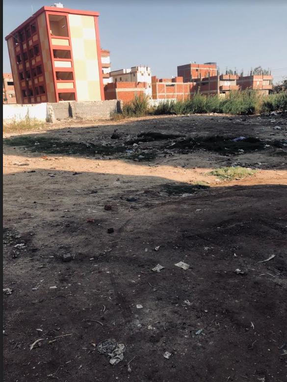 موقع مدرسة  فوزي فياز التي كان يدرس بها حسني مبارك في طفولته بالقرية قبل تهدمها