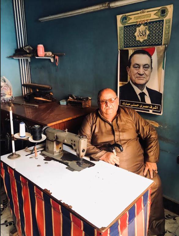 جميل مبارك نجل ابن عم الرئيس الأسبق