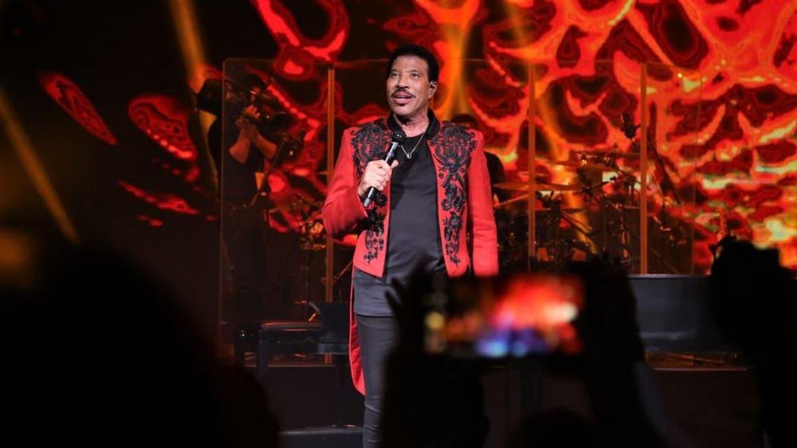 Lionel Richie sings all night long at Saudi Arabia's Winter at Tantora festival