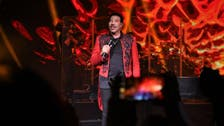 Lionel Richie performs top hits at Saudi Arabia's Winter at Tantora festival