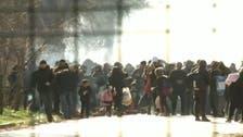 Clashes between migrants, Greek police erupt on Turkish border