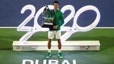 Djokovic bags 5th Dubai Championships title, beating Tsitsipas