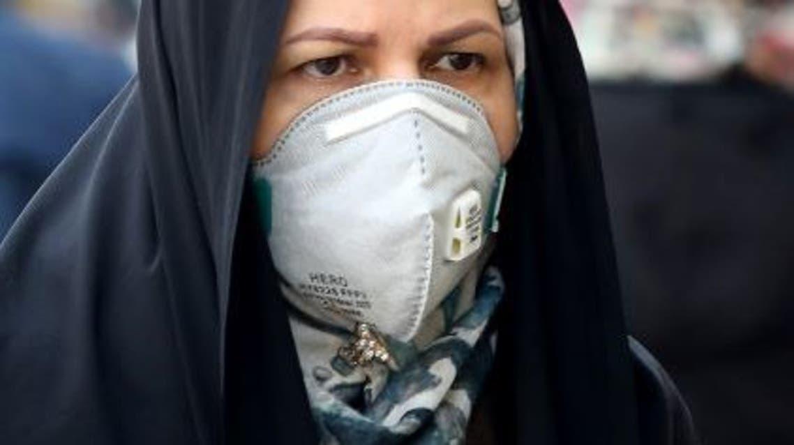 إيران كورونا (فبراير - فرنس برس)