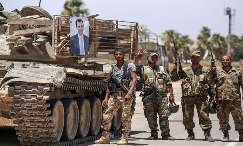 قوات النظام في درعا