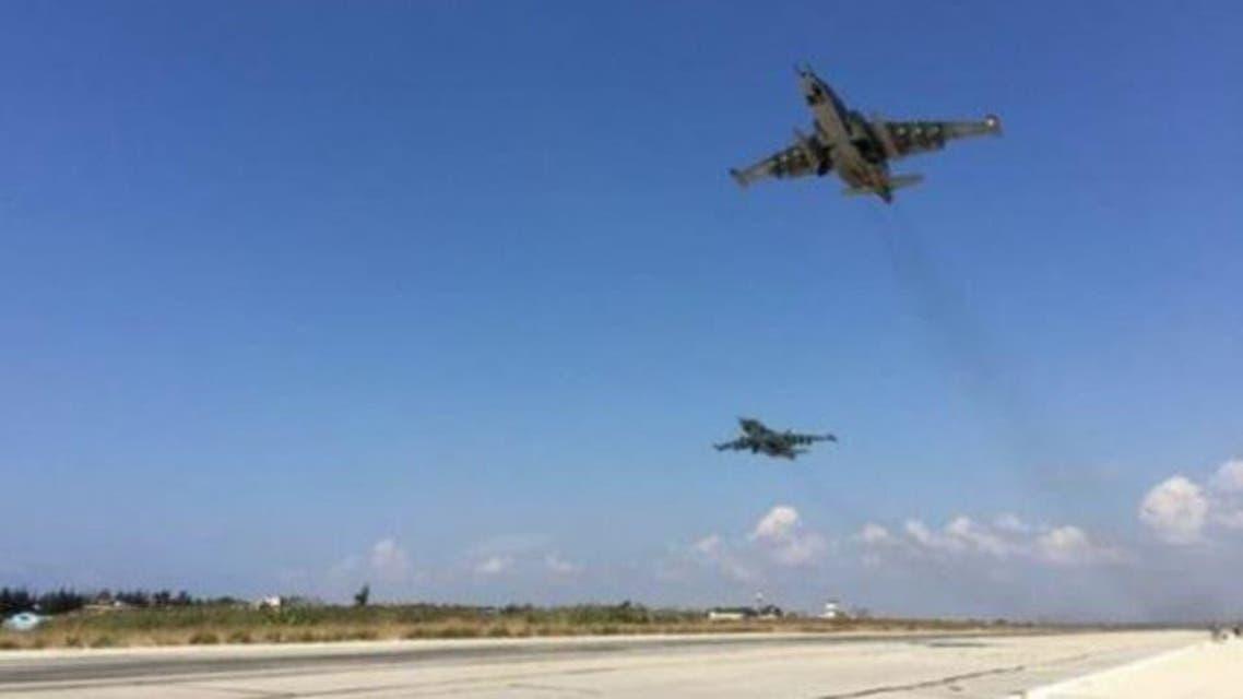 Turkey jet fighter in syria