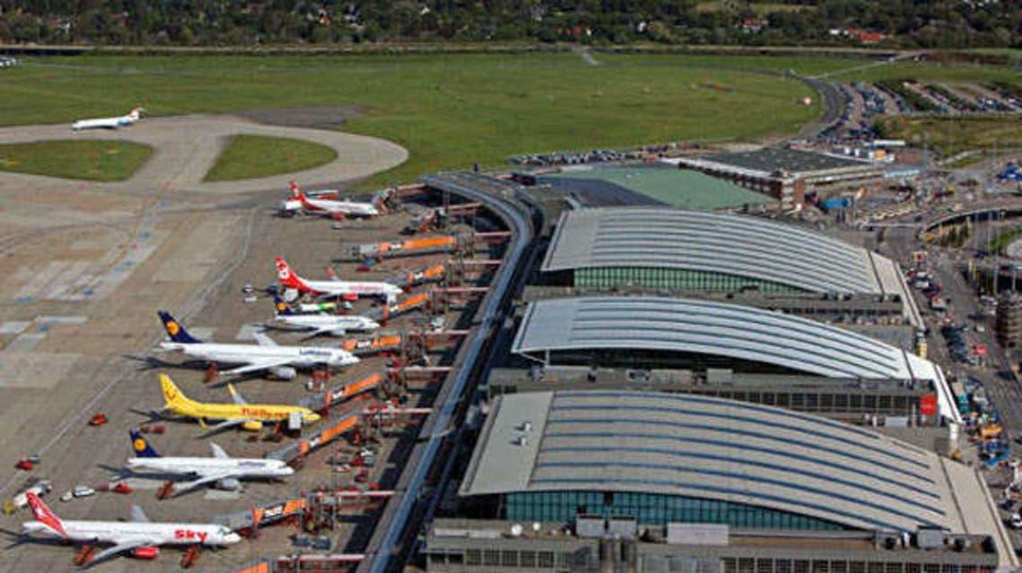 مطار هامبورغ في ألمانيا