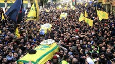 Lebanon's Hezbollah holds funeral for five of its fighters killed in Syria