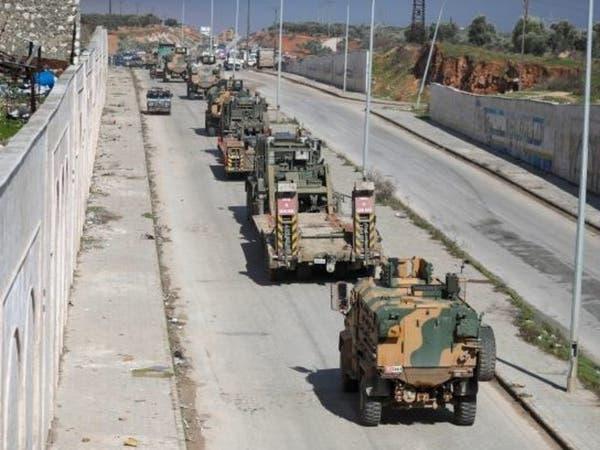 تركيا تستقدم رتلاً جديداً لشمال سوريا مكوناً من 100 آلية عسكرية