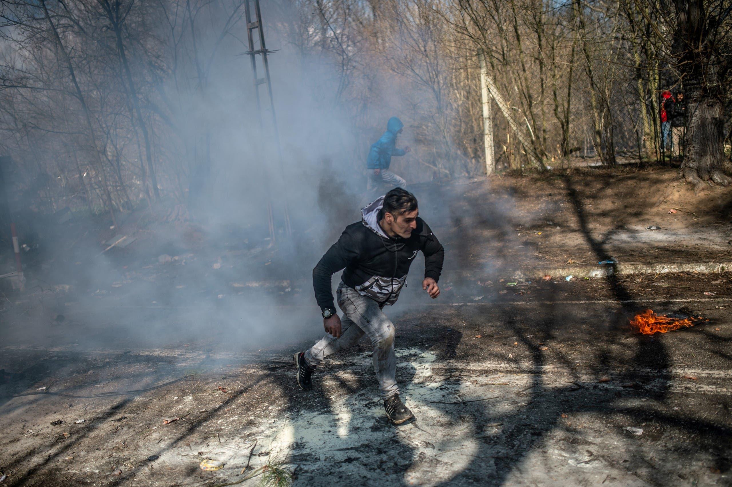 من الحدود التركية اليونانية (29 فبراير فرانس برس