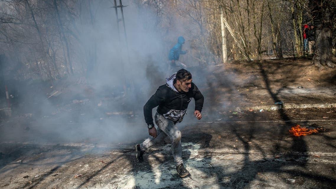 من الحدود التركية اليونانية (29 فبراير فرانس برس93