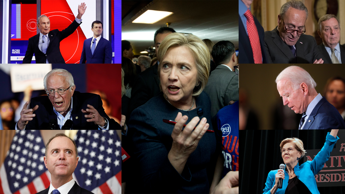 Collage of Democrats