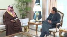 سعودی نائب وزیر دفاع شہزادہ خالد کی وزیر اعظم اور آرمی چیف سے الگ الگ ملاقاتیں