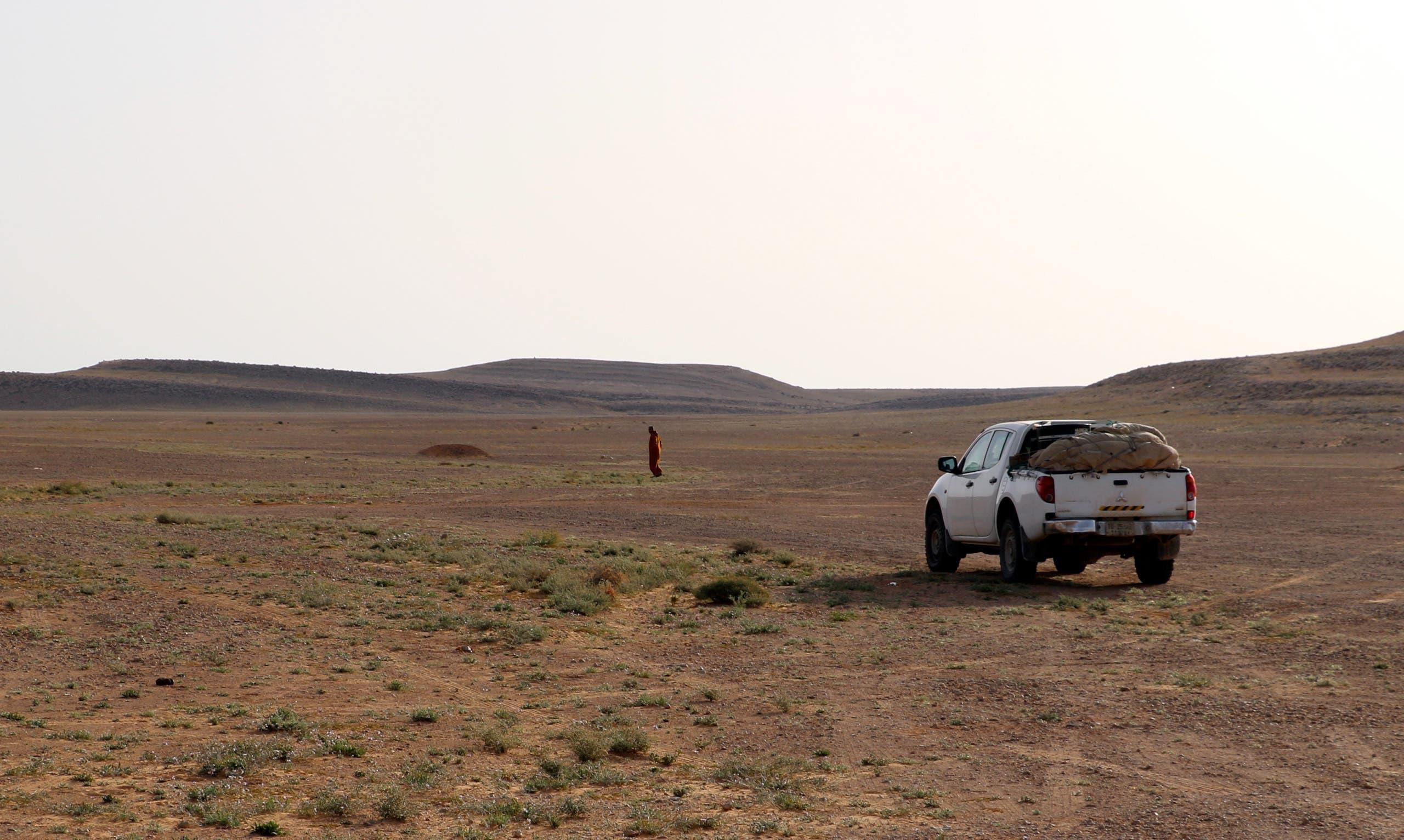 من الصحراء الليبية (أرشيفية - فرانس برس)